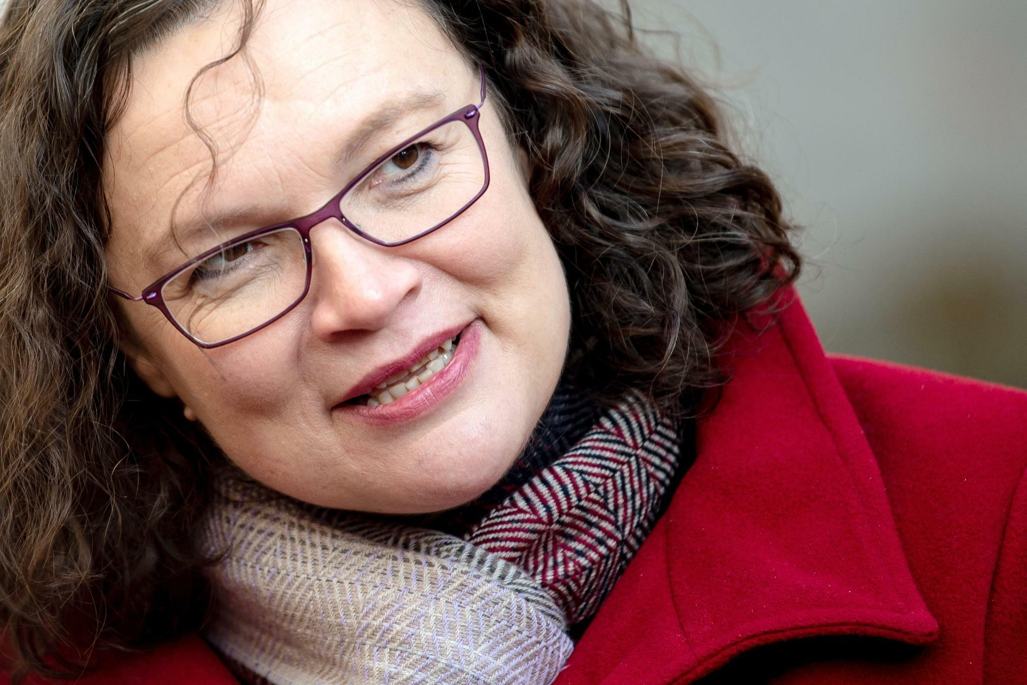 Andrea Nahles gibt letztes Interview als Politikerin