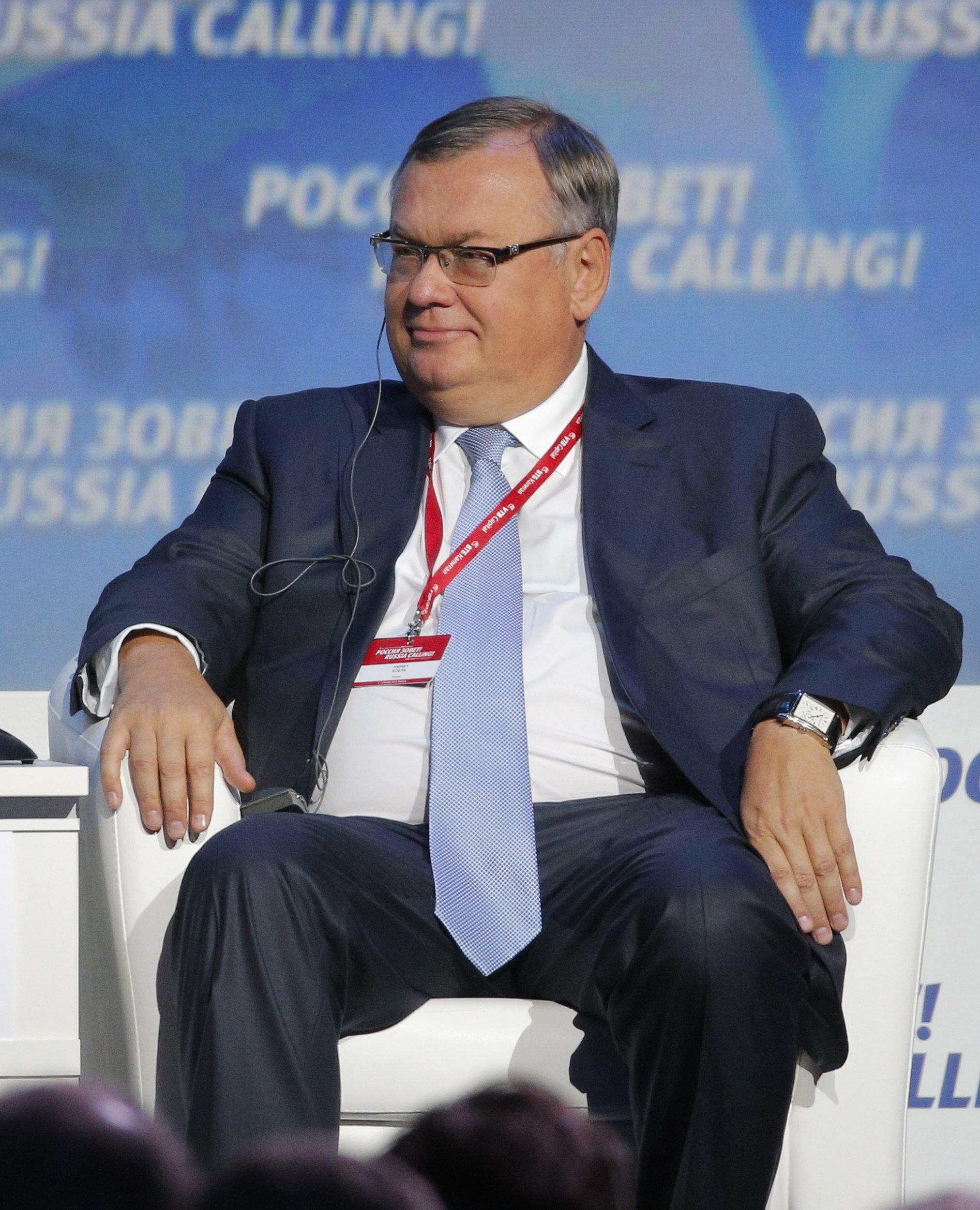 """VTB-Chef Andrej Kostin im Interview: """"Jeder hat Angst vor den Sanktionen"""""""