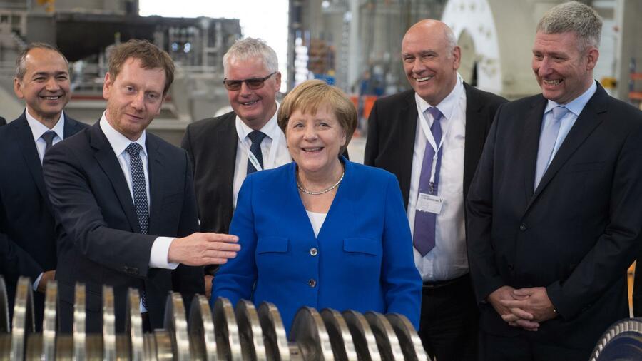 Wie Merkel im Osten um Stimmen kämpft