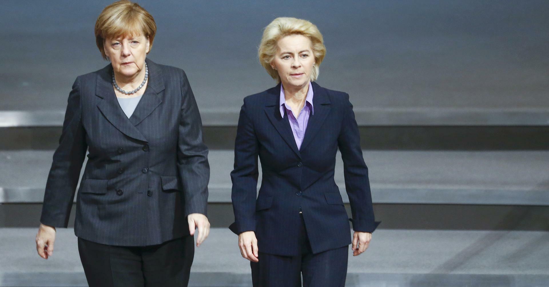Bundeswehr-Affäre: Merkel verteidigt von der Leyens Vorgehen