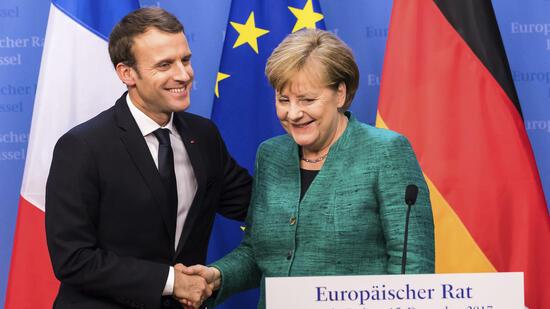 Merkel und Macron wollen sich bis März über Reformen verständigen