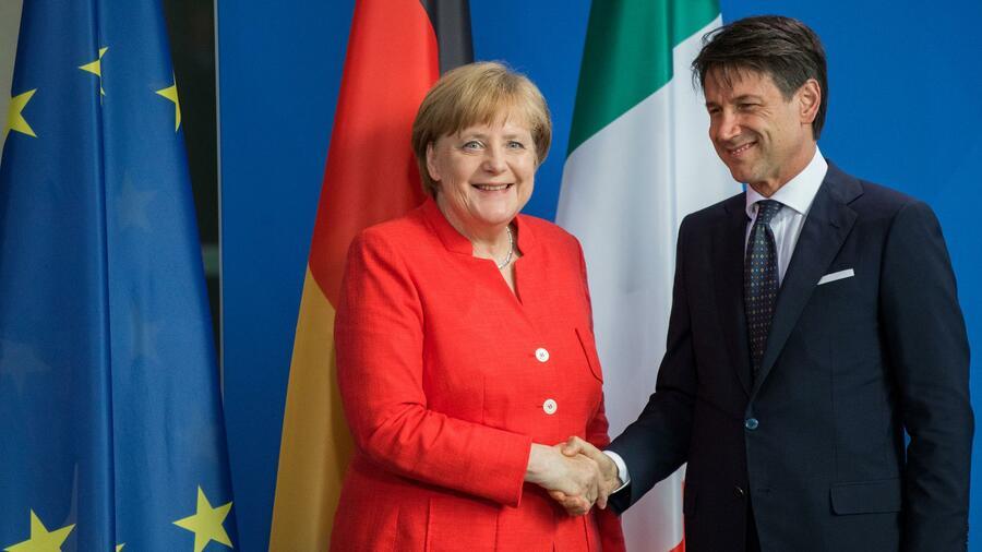 Migration: Merkel trifft Italiens Regierungschef Conte