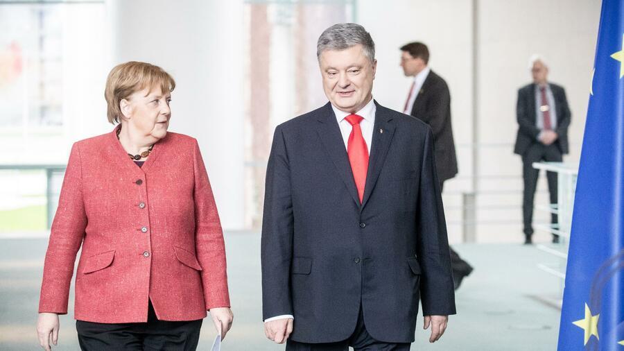 Telefonat mit Merkel – Ukraine will weitere Sanktionen gegen Russland