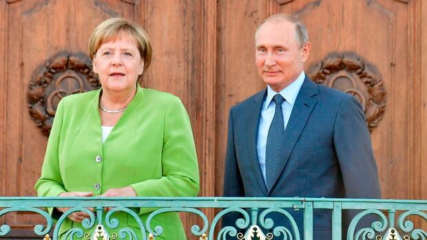 Putin und Merkel betonen Willen zur Zusammenarbeit