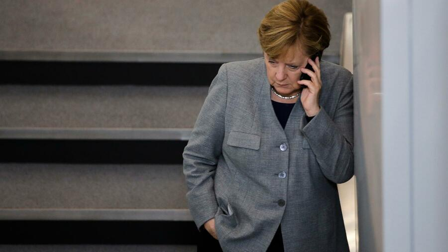 German chancellor Angela Merkel has been a voice for humaneness. Quelle: AP
