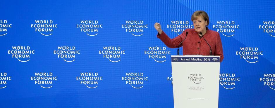 Merkel zeigt in Davos, warum die Welt die Kanzlerin noch braucht
