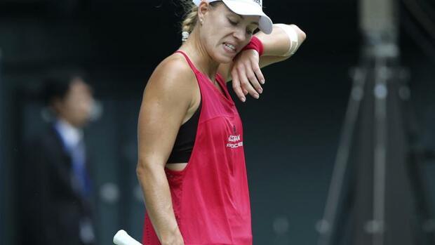 Tennis: Kerber verliert Auftaktmatch in Luxemburg