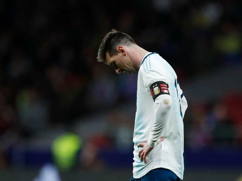 Enttäuschende Comebacks: Hängende Köpfe bei Ronaldo & Messi