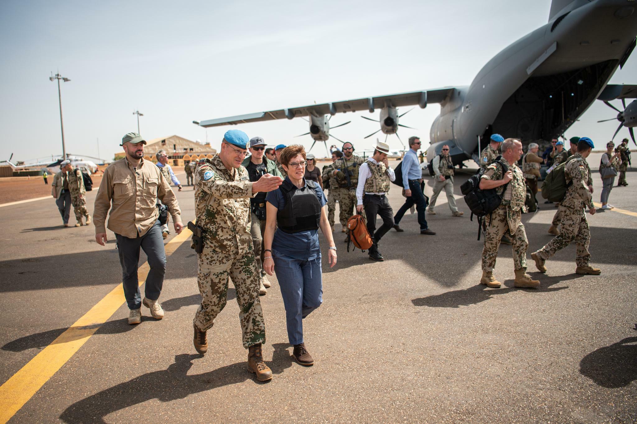Bundeswehr kämpft in Mali mit schleppendem Nachschub