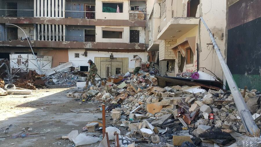 Mindestens 22 Tote nach Doppelanschlag in Libyen