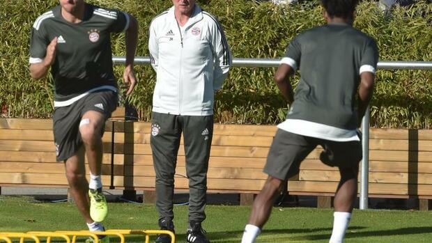 Fußball: Heynckes verdrängt Champions-League-Nostalgie