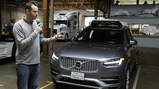 Uber feuert umstrittenen Entwickler von Roboterwagen-Technik
