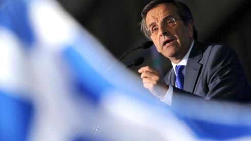 Der griechische Regierungschef Antonis Samaras hat ein Etappenziel erreicht. Der Anleiherückkauf war offenbar erfolgreich. Quelle: dpa