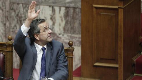 Griechenlands Regierungschef Antonis Samaras: Muss er bald die EU erneut um Hilfe bitten? Quelle: ap