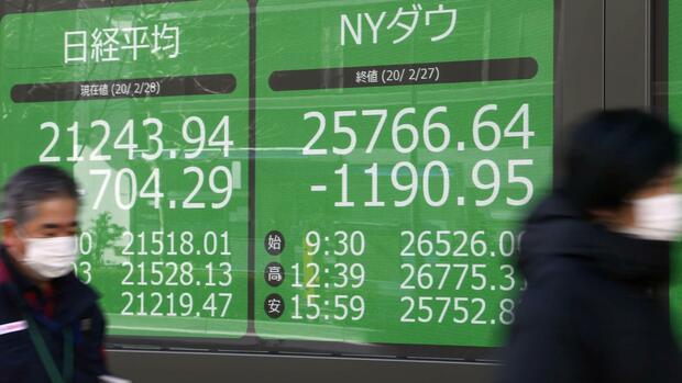 Nikkei, Topix und Co.: Asiens Aktienmärkte schwanken zwischen Gewinnen und Verlusten