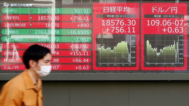 Nikkei, Topix und Co.: Wall Street, Japans großes Hilfsprogramm und Samsung stützen Asiens Märkte
