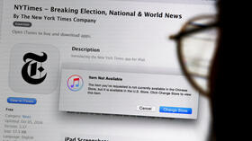 "Medienblockade in China: Apple entfernt ""New York Times"""