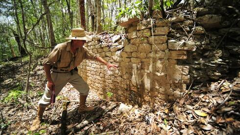 archeology: Researchers Discover sunken Mayan city