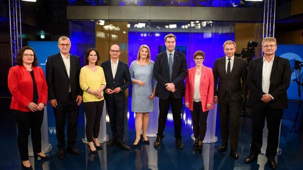 Wofür die Parteichefs im EU-Wahlkampf stehen