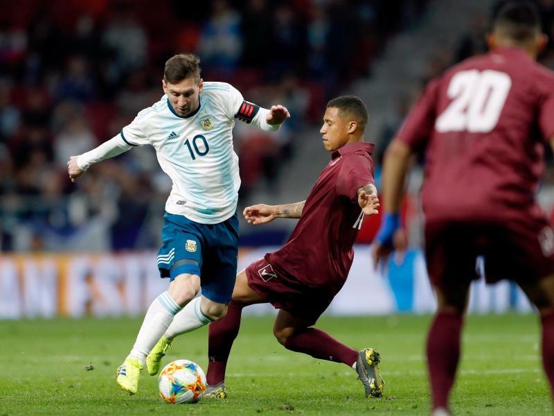 Argentinien blamiert sich bei Messi-Comeback gegen Venezuela