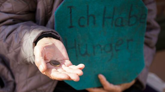 Jeder Fünfte von Armut oder sozialer Ausgrenzung bedroht