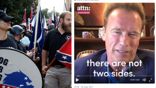 Schwarzenegger liest Trump die Leviten