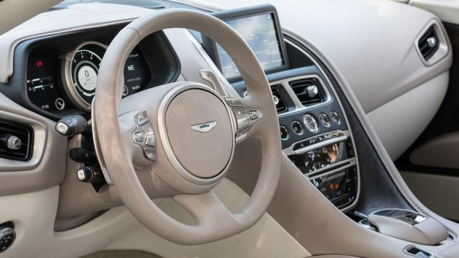Erste Ausfahrt Im Aston Martin Db11 Edel Und Eilig