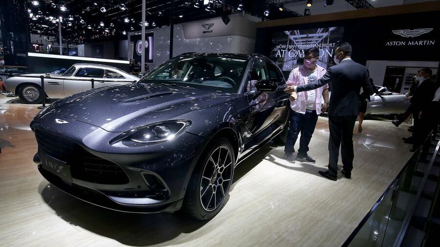 Mercedes Partnerschaft Daimler Stockt Anteil An Aston Martin Auf