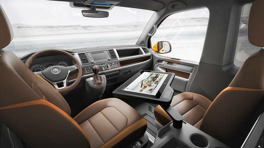 "Volkswagen-Transporter T6: Neuer ""Bulli"" fährt 2015 vor"