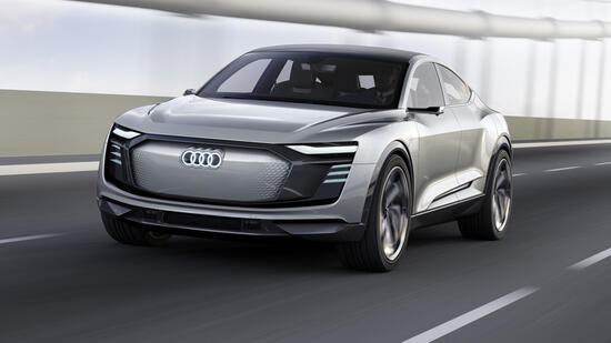 Automesse in Shanghai: Audis Batteriesportler rollt 2019 an