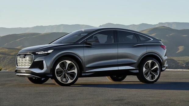 Q4 Sportback E-Tron Concept : So elektrifiziert Audi die Kompaktklasse
