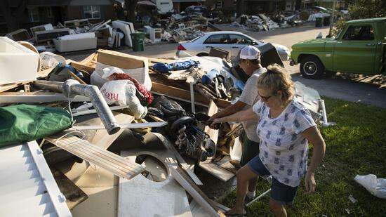 "Katastrophenhilfe nach ""Harvey"": US-Repräsentantenhaus billigt Milliardenpaket"