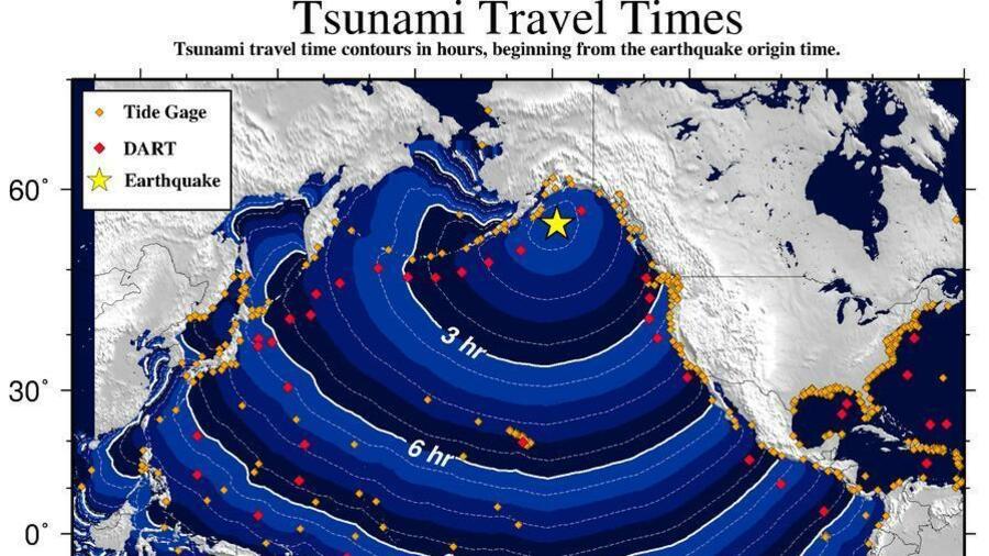 Tsunami-Warnung nach heftigem Erdbeben