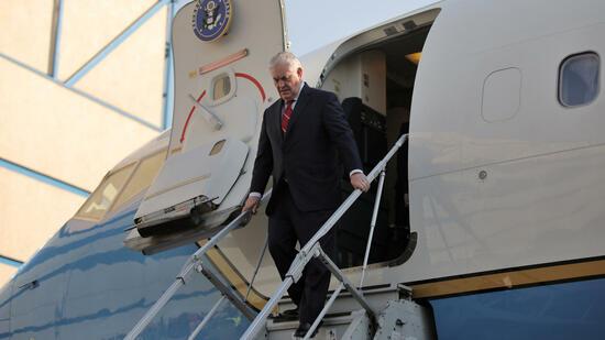 US-Außenminister Tillerson zu Gesprächen in Tokio