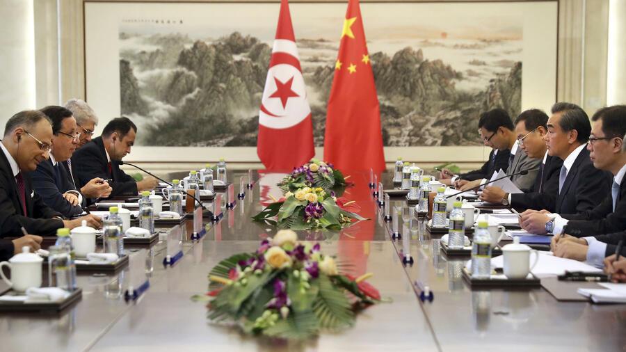 Bei Libyen Verständigen Sich China Und Tunesien Auf Einen Gemeinsamen Kurs.  Quelle: AP