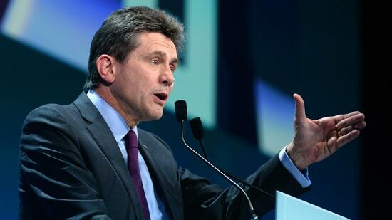 Axa-Chef Henri de Castries