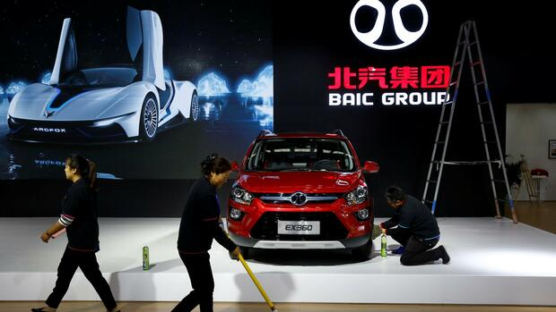 Daimler erwägt angeblich höhere Beteiligung an China-Partner BAIC