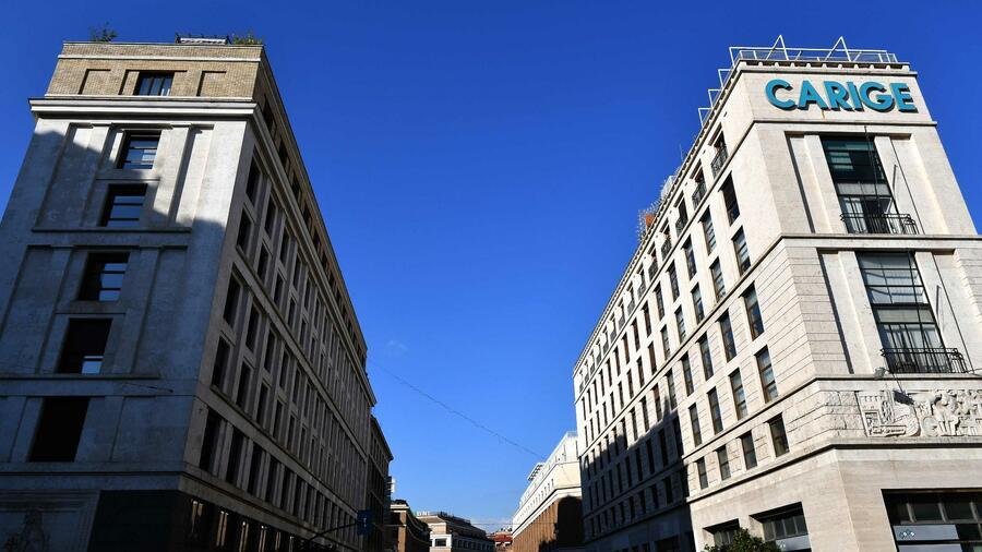 La banca italiana detiene crediti a rischio di 3,7 miliardi di euro.  Fonte: AFP