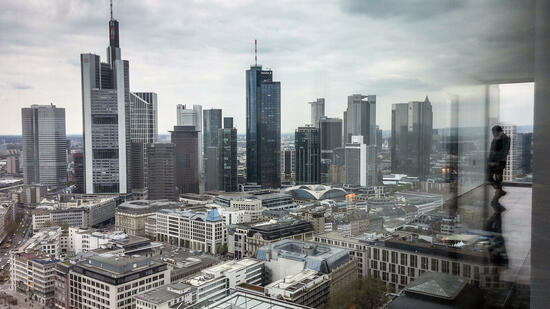 Banken-Skyline in Frankfurt am Main