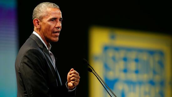 Barack Obama: So viel kassiert er für seine Reden