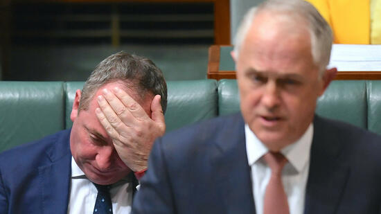 Australischer Vize-Premier aus Parlament ausgeschlossen