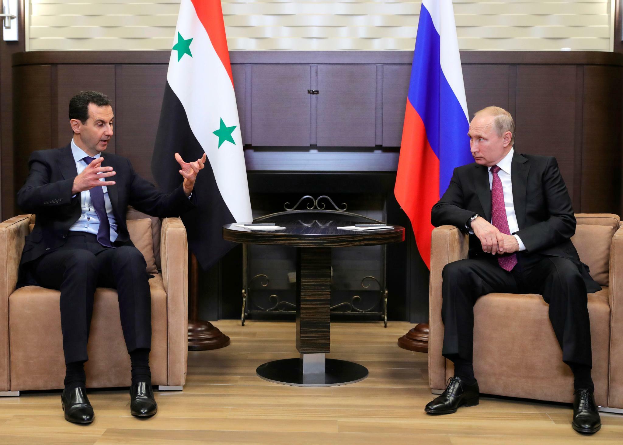 Syrien: Putin und Assad ordnen das Schlachtfeld neu