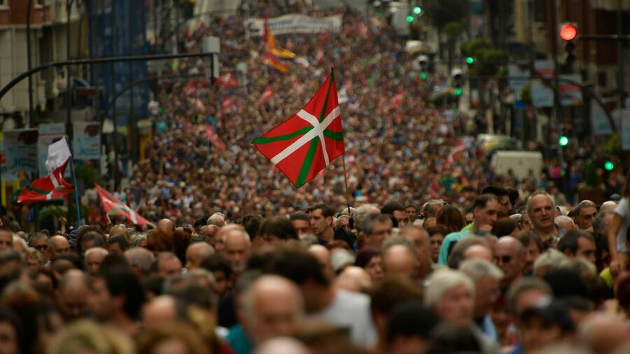 Die baskischen Separatistenorganisation ETA soll vor der Auflösung stehen. Quelle dpa