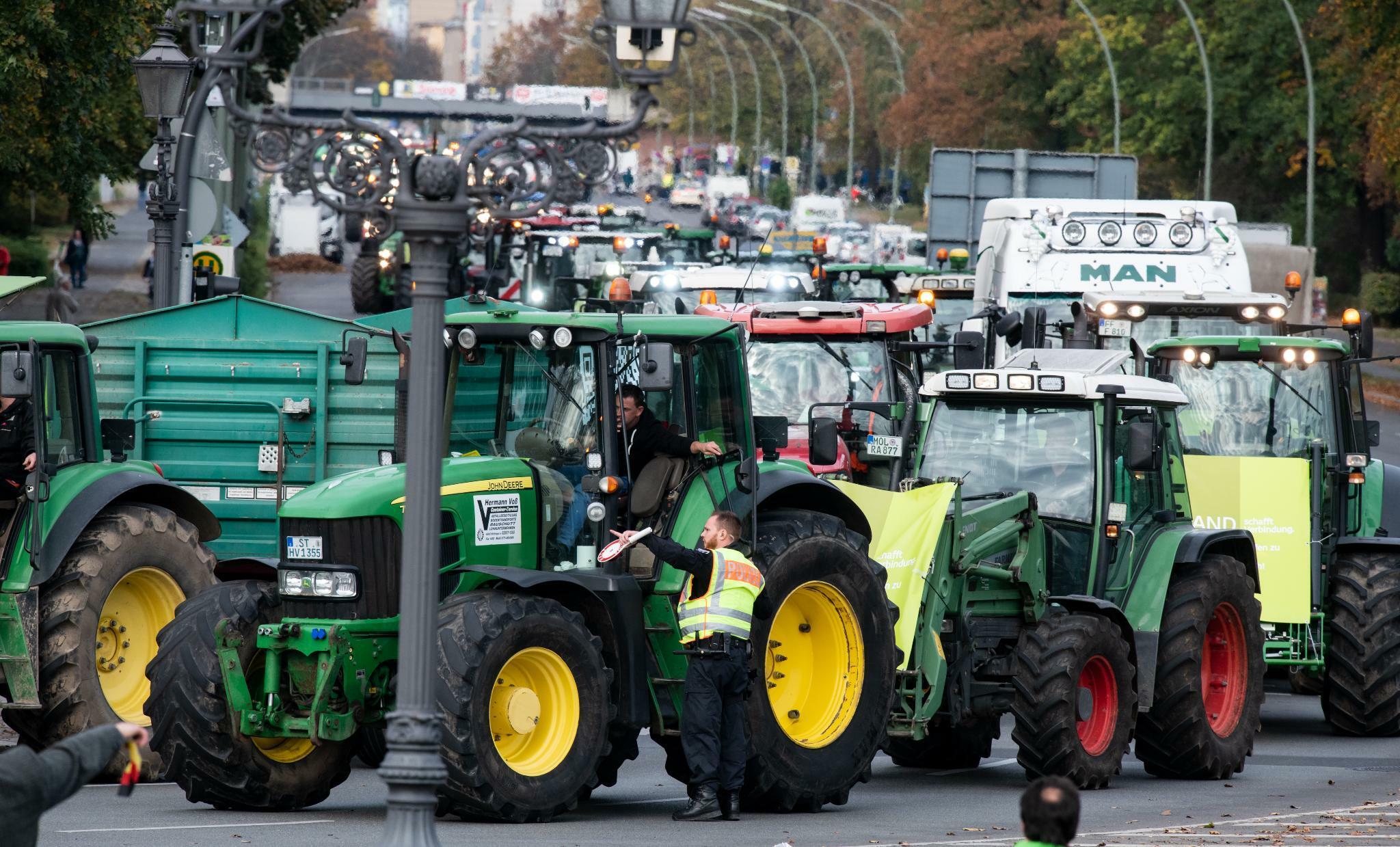 Diese Probleme treiben die deutschen Landwirte auf die Straße