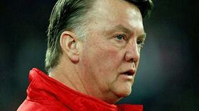 Bayern Münchens Trainer Louis van Gaal. Foto: Bongarts/Getty Images Quelle: SID