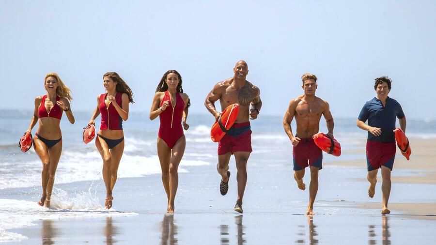 """Outlet zum Verkauf diversifiziert in der Verpackung Mode-Design Baywatch"""": Die Helden in den roten Badehosen sind zurück"""