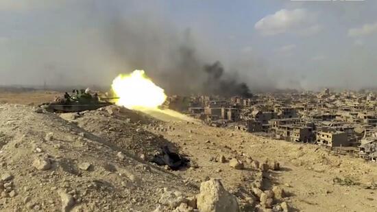 Syrische Armee erobert wichtige IS-Basis