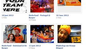 "Screenshot der Fotos der Facebook-Gruppe ""Belgian Soccer Fans for sale for Euro 2012""."