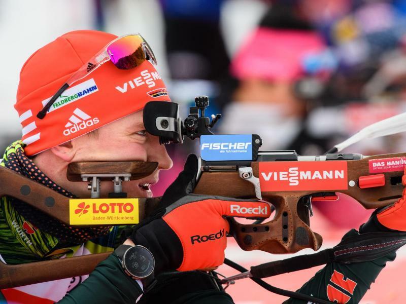 Biathleten Staffel-Zweite hinter Norwegen