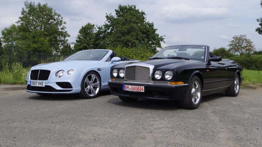 Impression: Bentley Azure und Continental GT V8 S Convertible - Britische Genussmittel Quelle: Patrick Broich/SP-X